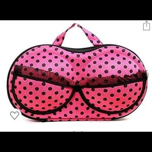 Other - Used once! Hot pink portable carrying case